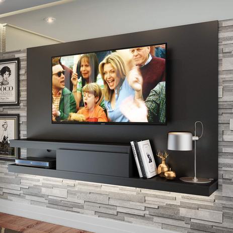 Imagem de Painel para TV até 60 Polegadas 1 Gaveta KD1601 Home Quiditá Preto