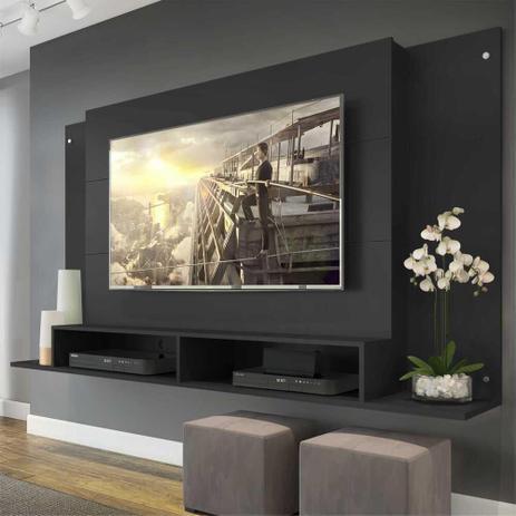 Imagem de Painel Tókio Multimóveis para TV de até 60 Polegadas com Nicho - Preto