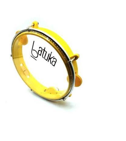 Imagem de Pandeiro Infantil --- Luen 8 Polegadas --- Batuka Amarelo