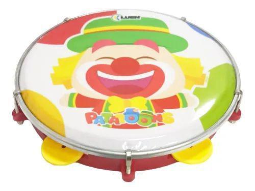 Imagem de Pandeiro Infantil --- Luen 8 Polegadas --- Patati Patata