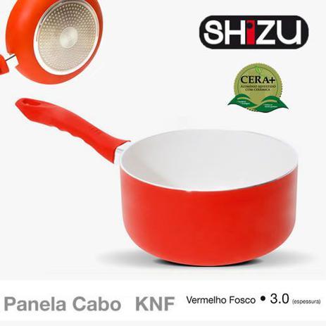 Imagem de Panela Cabo Ceramica Vermelha 18cm - 3,0mm Shizu