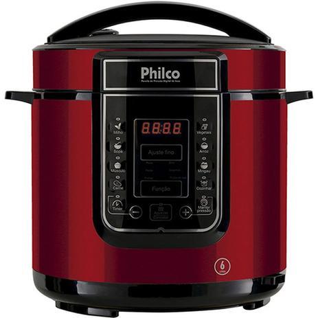 Imagem de Panela de Pressão Digital 6 Litros Inox VM 220 volts PPP01 - Philco