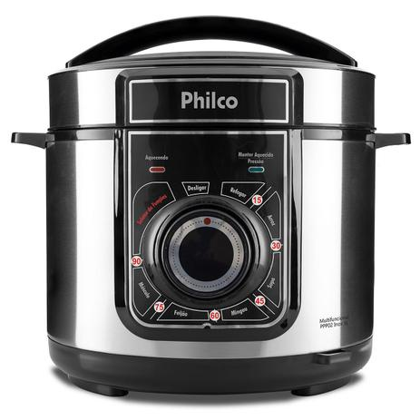 Imagem de Panela de Pressão Multifuncional Philco PPP02 Inox