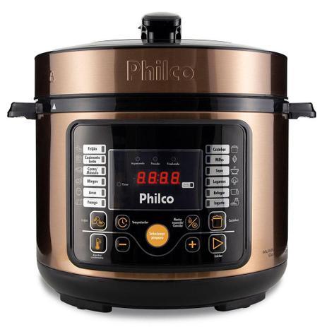 Imagem de Panela de Pressão Philco Multifuncional Digital 900W 5L Gold - PPP05G