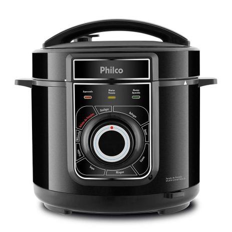 Imagem de Panela de pressao philco multifuncional inox 5l 900w pr ppp02pi preto - 127v