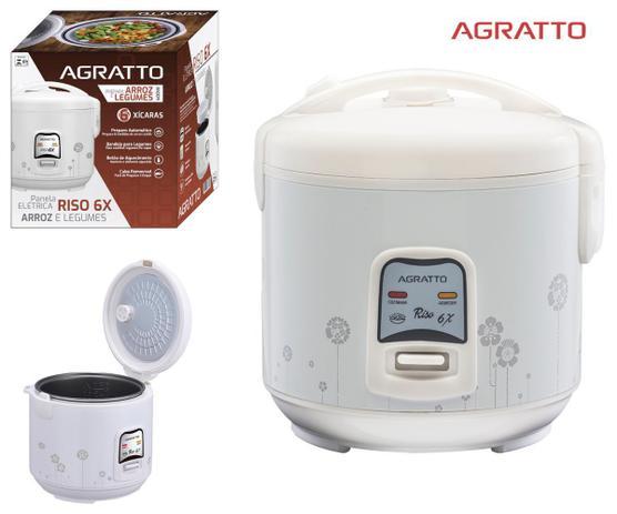 Imagem de Panela Elétrica Arroz E Legumes Agratto 6 Xícaras 110 E 220v