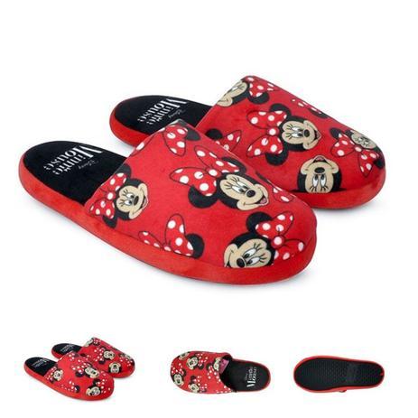 44b9b6860 Pantufa Chinelo Minnie Vermelho 34/35 - Ricsen - Acessórios para ...