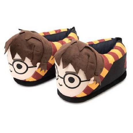 ebfd0d2249c Pantufa Harry Potter 3D Com Sola De Borracha Ricsen 28/30 ...