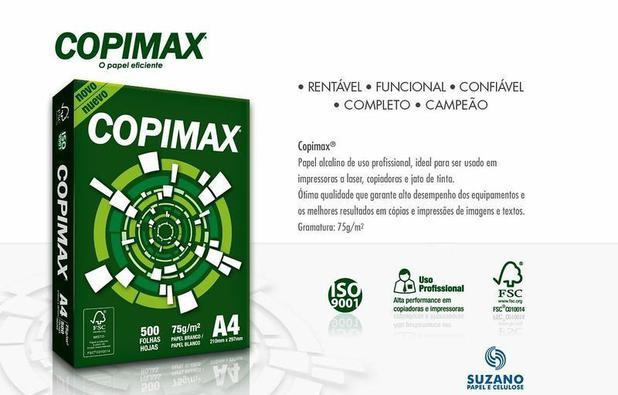 Imagem de Papel A4 Copimax 75g/m² 500 Folhas