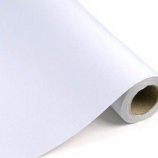 Imagem de Papel Adesivo Contact Branco Rolo 45 Cm X 10 Mts