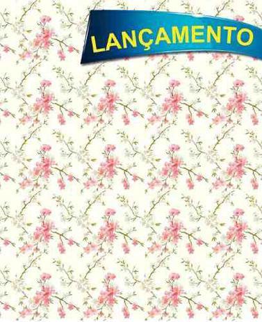 91a71e573 Papel Adesivo Contact Flor De Cerejeira 45cm X 10mt Lavavel - Plastcover
