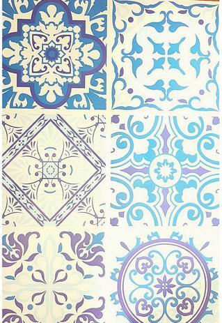 338264eb6 Papel De Parede adesivo lavavel Para Cozinha Azulejo Português Hidráulico  003 - Fort line