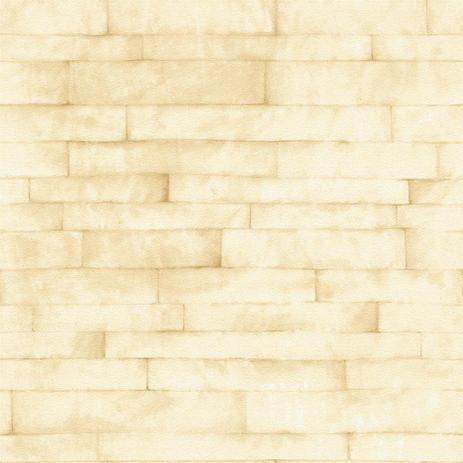 a6d9bb686 Papel de Parede Natural Bege Tijolinho 1417 Bobinex - Adesivo e ...