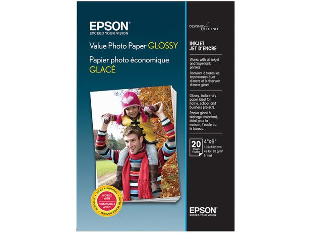 Imagem de Papel Fotográfico Epson Value Photo Paper Glossy