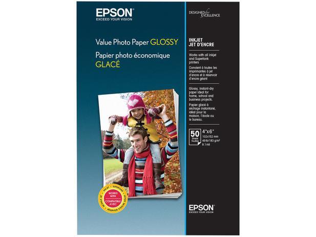 Imagem de Papel Fotográfico Epson Value Photo Paper Glossy