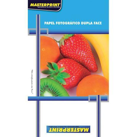 1fcf75f94 Papel Fotografico Inkjet A4 Glossy Dupla Face 220G Pct.C 20 Masterprint