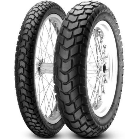 Imagem de Par Pneu Bros 150 Bros 160 Xtz 150 Crosser 110/90-17 + 90/90-19 Mt60 Pirelli
