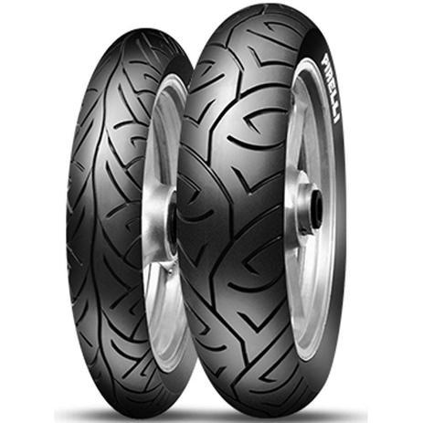 Imagem de Par Pneu Cbx Twister Fazer 250 100/80-17 + 130/70-17 Sport Demon Pirelli