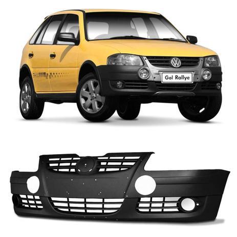 Imagem de Parachoque Dianteiro Gol G4 Rallye 2006 2007 2008 2009 2010 Preto Texturizado com Furo para Milha