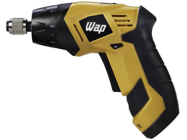 Parafusadeira Wap BP3.6 - a Bateria 200rpm