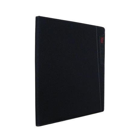 9473d5fbd Pasta Apresentação com bloco de notas 30 folhas - A4 - Tecido - Opaca -  Executiva - Yes