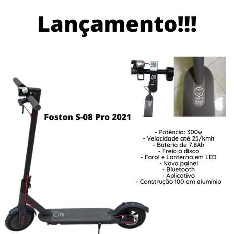 Imagem de Patinete Elétrico Foston 2021 C / Painel Digital