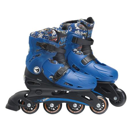 f3fde802cde Patins Infantil Ajustáveis M2 33 Á 36 Hot Wheels 8007-8 Fun - Patins ...