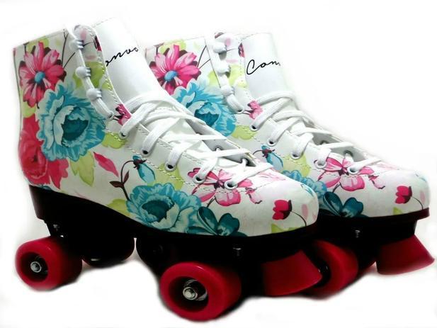 Imagem de Patins Tradicional Roller Have Fun Floral - Convoy