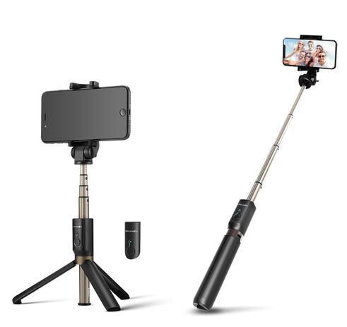 Imagem de Pau De Selfie E Tripé Bluetooth Iphone E Android - Blitzwolf