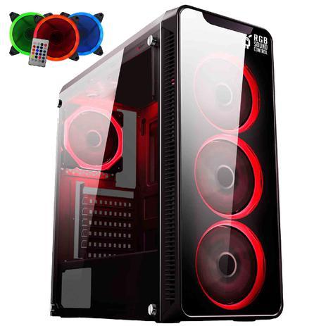 Imagem de PC Gamer EasyPC FirstBlood AMD Ryzen 5 2400G 8GB DDR4 (Radeon RX Vega 11) HD 1TB