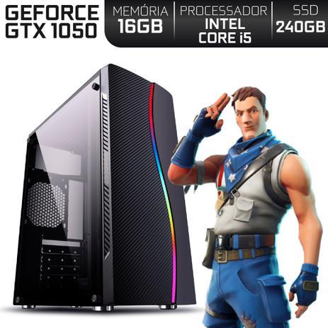 Imagem de PC Gamer Intel Core i5 RAM 16GB Nvidia Geforce GTX 1050 2GB SSD 240GB EasyPC Expert