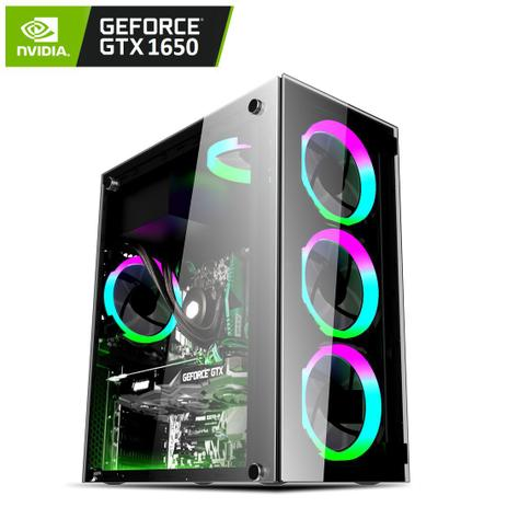 Imagem de PC Gamer Intel Core i7 3.80Ghz RAM 16GB (Geforce GTX 1650 4GB) SSD 240GB EasyPC ATK