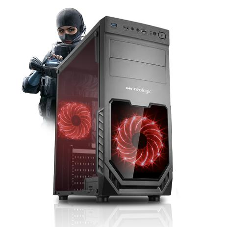 Imagem de Pc Gamer Neologic NLI81213 Intel i5-9400F 8GB (GTX 1650 4GB) 1TB
