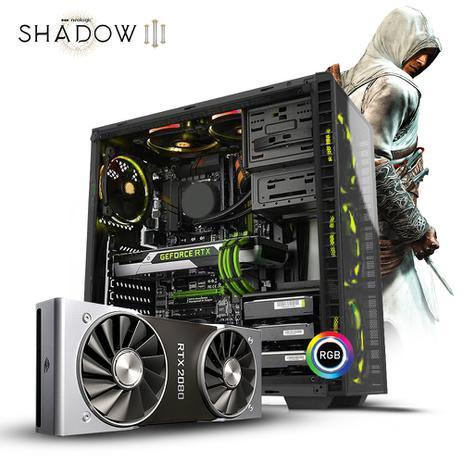 Pc Gamer Neologic Shadow III NLI81155 Intel i5-9400F 8GB (RTX 2080) 1TB