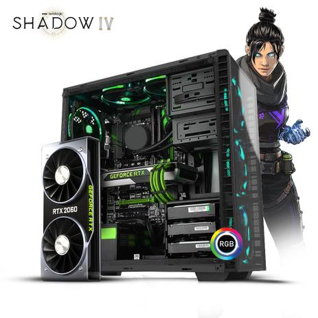 Imagem de Pc Gamer Neologic Shadow IV NLI81179 Intel i5-9400F 16GB (RTX 2060) 1TB