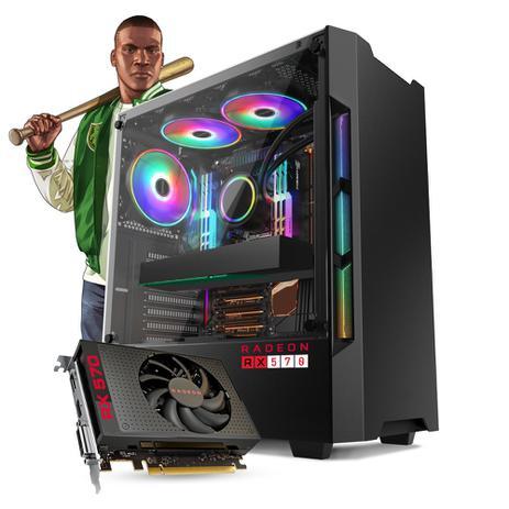 Imagem de Pc Gamer Smart Pc SMT81266 Intel i5 8GB (RX 570 4GB) 1TB