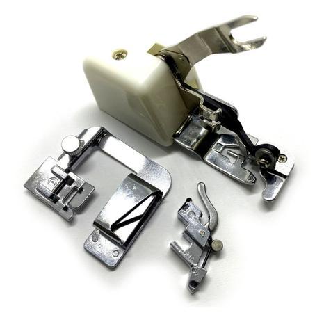 Imagem de Pé Calcador Overlock Com Corte e Sapata Fazer Bainha 25mm