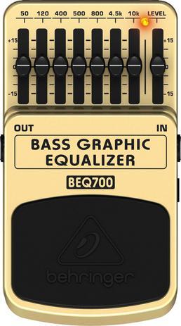 Imagem de Pedal Contrabaixo Equalizer BEQ700 Behringer