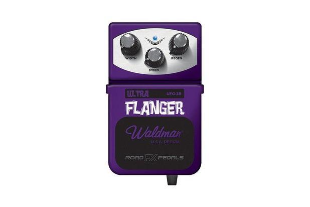 Imagem de Pedal De Efeito Para Guitarra Waldman Flanger Uf-3r