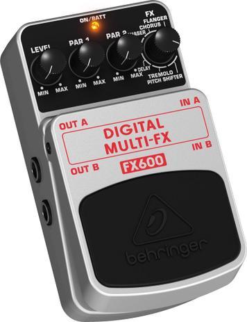 Imagem de Pedal Guitarra Multi Efeitos FX600 Behringer