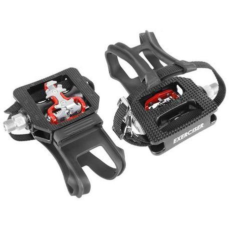 560c45c07f9 Pedal para Bicicleta Ergométrica Fitness   Spinning Engate Sapatilha e  FirmaPé - Wellgo WPD-E003