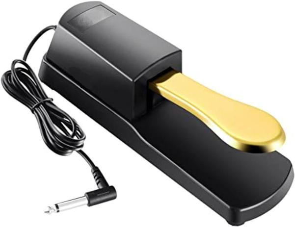 Imagem de Pedal Sustain Mellody Tb100 Gold Korg Yamaha Roland