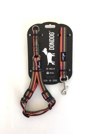 caf9c7a9c Peitoral e Guia Don Dog Indie Tamanho M - Peitoral para Cachorro ...