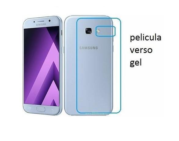 Imagem de Película De Gel Verso Traseira Cobre 100% O Display Samsung Galaxy A7 2017 A720
