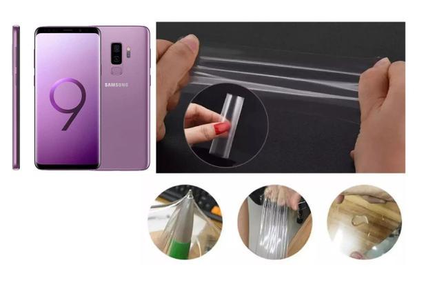 Imagem de Película De Gel Verso Traseira Cobre 100% O Display Samsung Galaxy S9 G960