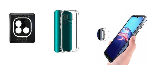 Imagem de Película De Nano Gel Motorola Moto G9 Play + Película Da Lente + Capa Reforçada