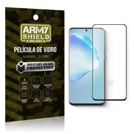 Imagem de Película de Vidro 3D 9H Curvada Full Cover S20 - Armyshield