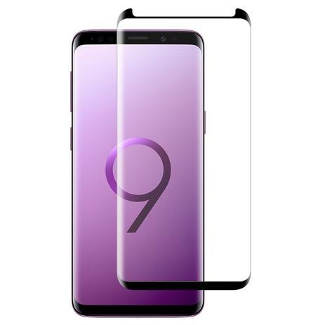 Imagem de Película De Vidro Curvada Com Borda Preta Samsung Galaxy S9