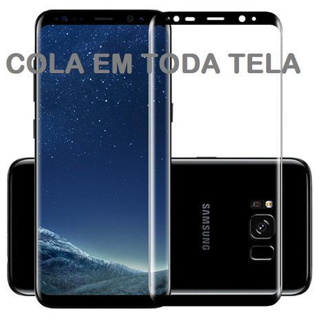 5305bc23f Pelicula De Vidro Galaxy S8 Plus - 5D Curvada Cola a Tela Toda - M3 ...