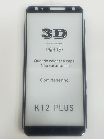 Imagem de Película De Vidro Temperado 3d Curvada Lg K12 Plus